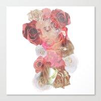 La Virgen De Guadalupe S… Canvas Print