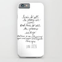 Here's To All The Places… iPhone 6 Slim Case