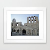 Greece - Athens Framed Art Print