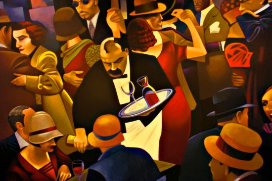 The Speakeasy Art Print