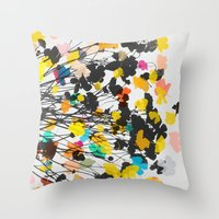 buttercups 2 Throw Pillow