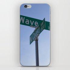 Wave Street iPhone & iPod Skin