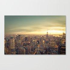 New York Skyline Citysca… Canvas Print