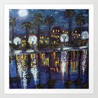 Colonial Lake, Charlesto… Art Print