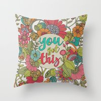 You Got This Throw Pillow