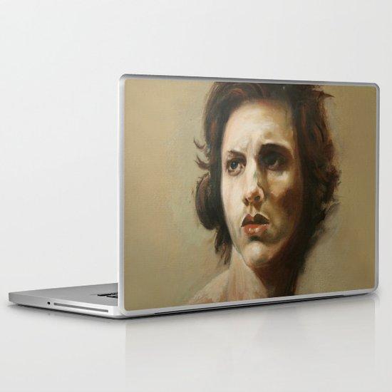 study of an angel Laptop & iPad Skin