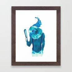 Baby Blue #1 Framed Art Print