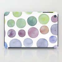 Dots purple and green iPad Case