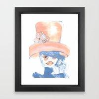 SUMMER BABE Framed Art Print