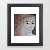 Yearning To Know Why We'… Framed Art Print