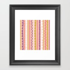 Butterfly Garden - Streamers Framed Art Print
