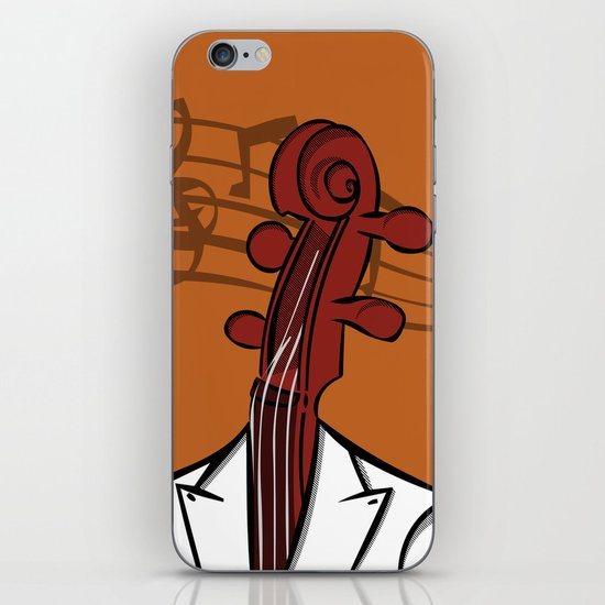 Music In My Head iPhone & iPod Skin