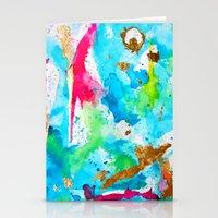 Le Aqua et Passion Stationery Cards