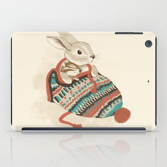 cozy chipmunk iPad Case