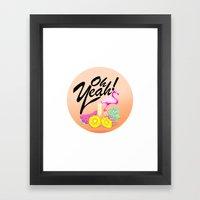 Oh Yeah! | Originals Framed Art Print
