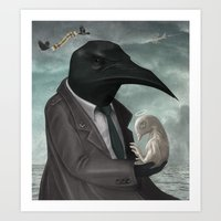 The Father Art Print