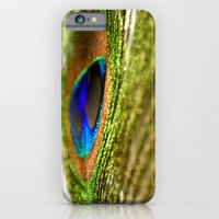 Shimmering Peacock iPhone 6 Slim Case