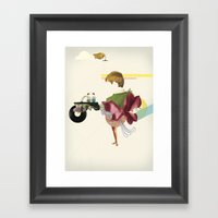 UNTITLED #3 Framed Art Print