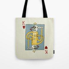 King Of Hearts Tote Bag