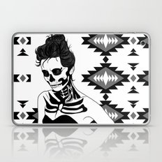 Lady Skull Aztec Laptop & iPad Skin