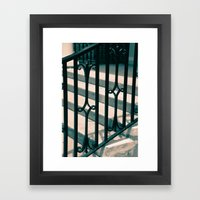 Staircase Framed Art Print