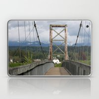 Across The Bridge And Be… Laptop & iPad Skin