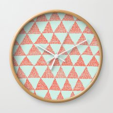 try-angles Wall Clock