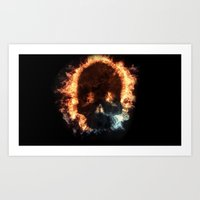 House of Fire Art Print