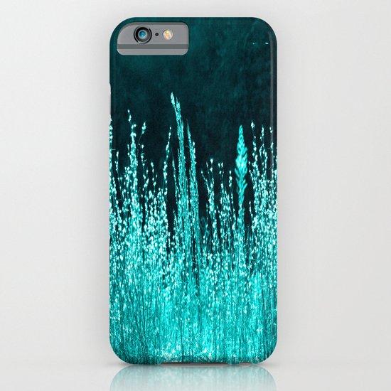 Grasses Aqua iPhone & iPod Case