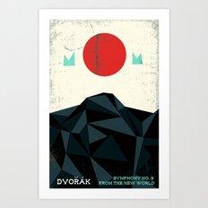 From the New World - Dvorak - Symphony No. 9 Art Print