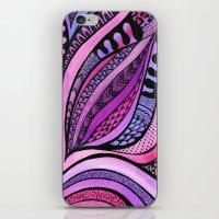 Tangle Tuliping iPhone & iPod Skin