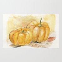 Mini Pumpkins II Rug