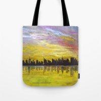 Sky-line Tote Bag