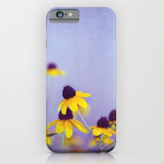 Lilac and Yellow iPhone & iPod Case