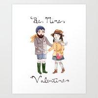 Be Mine Art Print