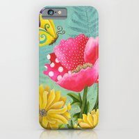 iPhone & iPod Case featuring Wondrous Garden by Jennifer Lambein