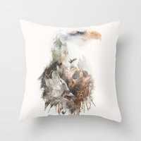 Pride Before The Fall Throw Pillow