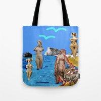 Aphrodites throughout times Tote Bag