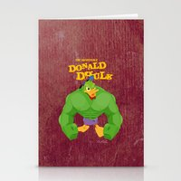 coupling up (accouplés) Donald Dhulk Stationery Cards