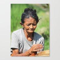 Hard Life Canvas Print