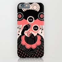 iPhone Cases featuring Hallucination by Muxxi
