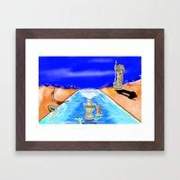 Tiberias Framed Art Print