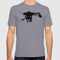 Voyager Mens Fitted Tee Slate SMALL