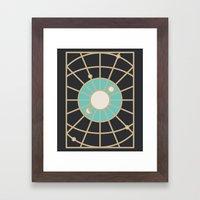 Cosmic Eye Framed Art Print