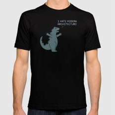 Monster Issues - Godzilla Black SMALL Mens Fitted Tee