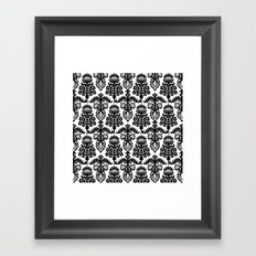 Floral Pattern Framed Art Print