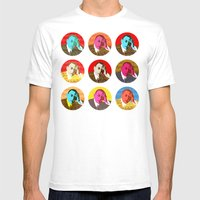 Rachmaninov rounds Mens Fitted Tee White SMALL
