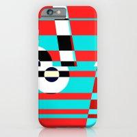 Grid Square TV Crazy iPhone 6 Slim Case