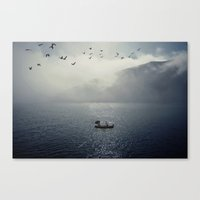 Canvas Print featuring A lifetime with you by  Maʁϟ