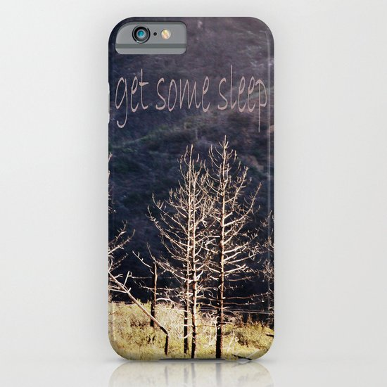 get some sleep iPhone & iPod Case
